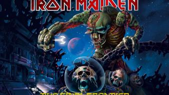 Skulls music iron maiden Wallpaper