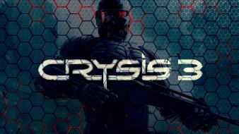 Soldier weapons textures cells crysis 3 hexagon wallpaper
