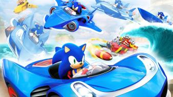 Sonic the hedgehog video games sega allstar racing wallpaper