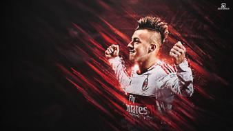 Sports soccer men ac milan football player Wallpaper
