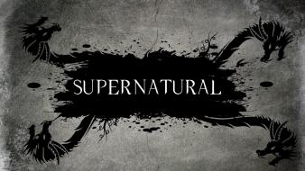 Supernatural dragons grunge grayscale complex magazine wallpaper