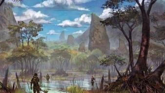 Swamp the elder scrolls online wallpaper