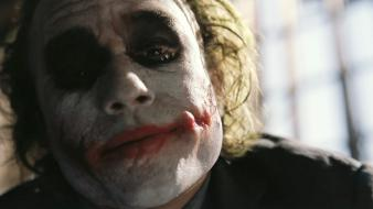 The joker heath ledger batman dark knight faces wallpaper