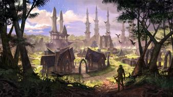 Town the elder scrolls online wallpaper