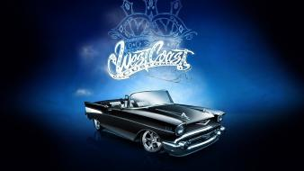 Tuning cadillac convertible west coast customs sign wallpaper