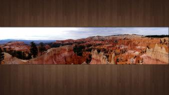 Usa bryce canyon panorama wallpaper