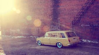 Vehicles old cars lada 2102 russian Wallpaper