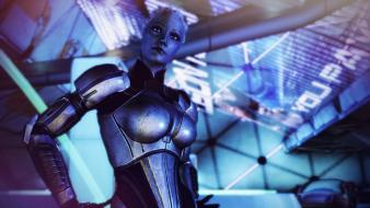 Video games mass effect 3 liara tsoni wallpaper