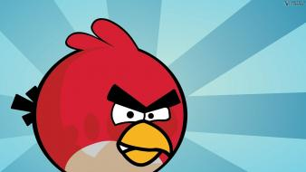Angry birds space game wallpaper