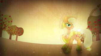 Applejack my little pony: friendship is magic wallpaper