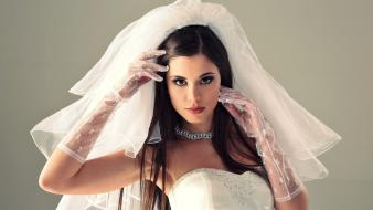 Caprice w4b magazine wedding dresses white dress wallpaper