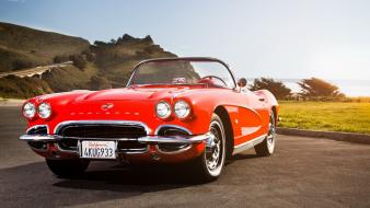 Cars chevrolet corvette classic car Wallpaper