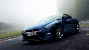 Cars nissan gtr r35 gt-r gtr35 2013 wallpaper