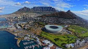 Cityscapes south africa stadium stadion wallpaper