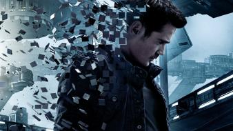 Colin farrell movie posters total recall wallpaper