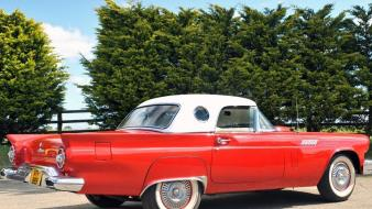 Ford thunderbird classic cars wallpaper