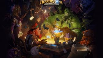 Game orc night pc games hearthstone heroes wallpaper