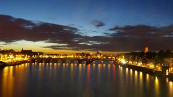 Holland maastricht the netherlands cities skyline hotel wallpaper