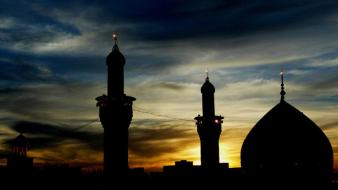 Islam mosque imam hosein wallpaper