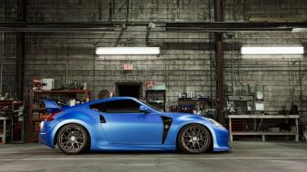 Lights parking nissan 370z fairlady z34 garage Wallpaper