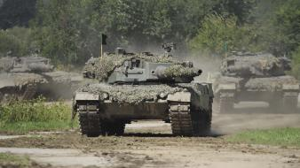 Military tanks leopard 2 wallpaper