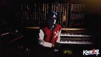 Music studio electro artwork french kavinsky Wallpaper