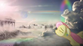 My little pony: friendship is magic skies wallpaper