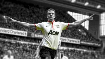Robin van persie premier league cutout rvp wallpaper
