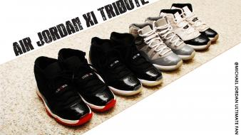Shoes basketball sneakers michael jordan air xi wallpaper