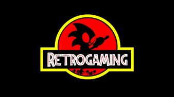 Sonic the hedgehog video games jurassic park retro wallpaper
