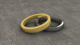 Stones gold silver render 3d cinema 4d wallpaper