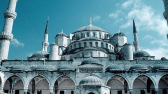 Turkey islam mosque Wallpaper