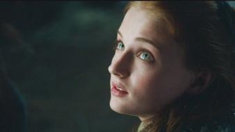 Tv series sansa stark sophie turner (actress) wallpaper