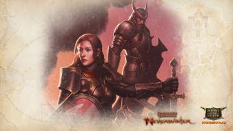 Video games dungeons and dragons fighter dragons: neverwinter wallpaper