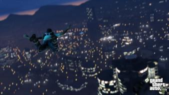 Video games grand theft auto rockstar gta v wallpaper