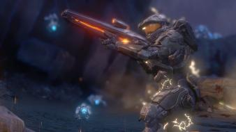 Video games guns master chief halo 4 Wallpaper
