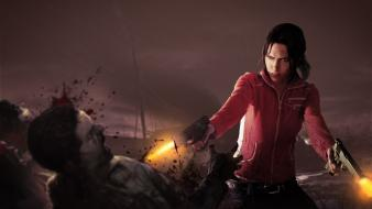 Video games zombies left 4 dead zoey (left4dead) Wallpaper