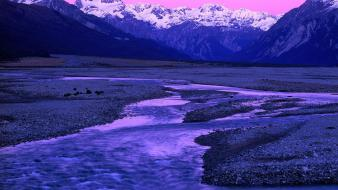 Zealand south travel alps national park southern wallpaper
