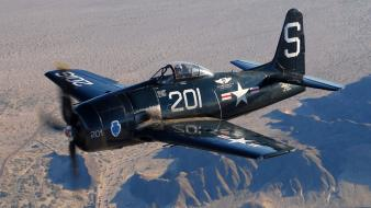 Airplanes grumman bearcat Wallpaper