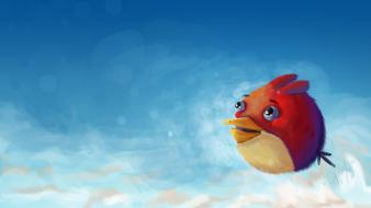 Artwork angry birds wallpaper