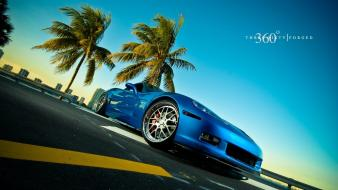 Blue cars wallpaper
