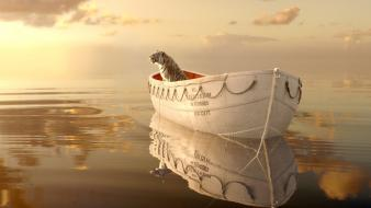 Boats artwork movie posters life of pi wallpaper