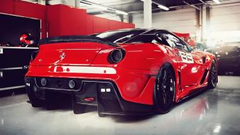 Cars ferrari 599xx racing wallpaper