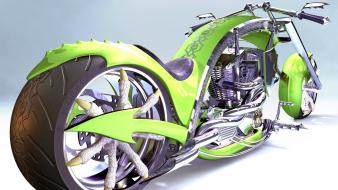 Chopper concept art motorbikes wallpaper