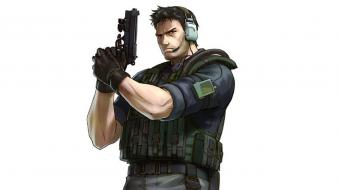 Chris redfield copia project x zone wallpaper