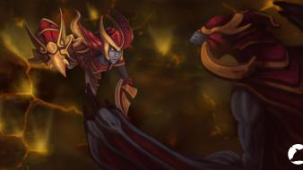 Dragons league of legends shyvana wallpaper