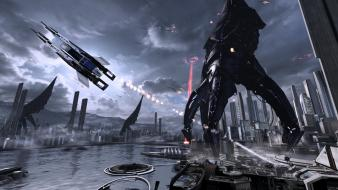 Earth mass effect 3 reapers Wallpaper