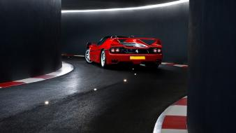 Ferrari tunnels tron vehicles supercars f50 italian wallpaper