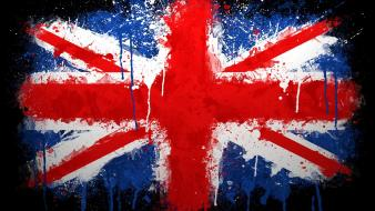 Flags united kingdom paintwork Wallpaper