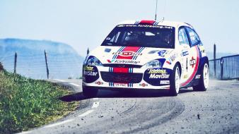 Ford colin mcrae rally car wallpaper